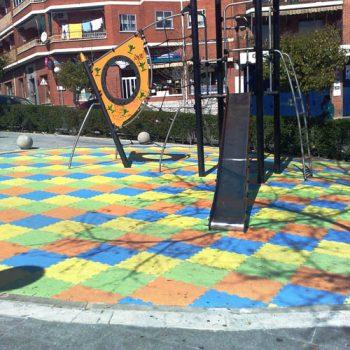 Fabricante de planchas de caucho para pavimentos infantiles
