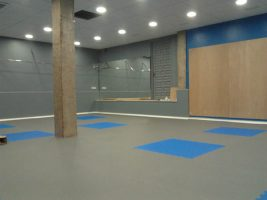Fabricante de planchas de caucho para pavimento deportivo